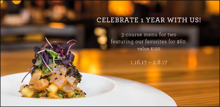 CELEBRATE 1 YEAR WITH US