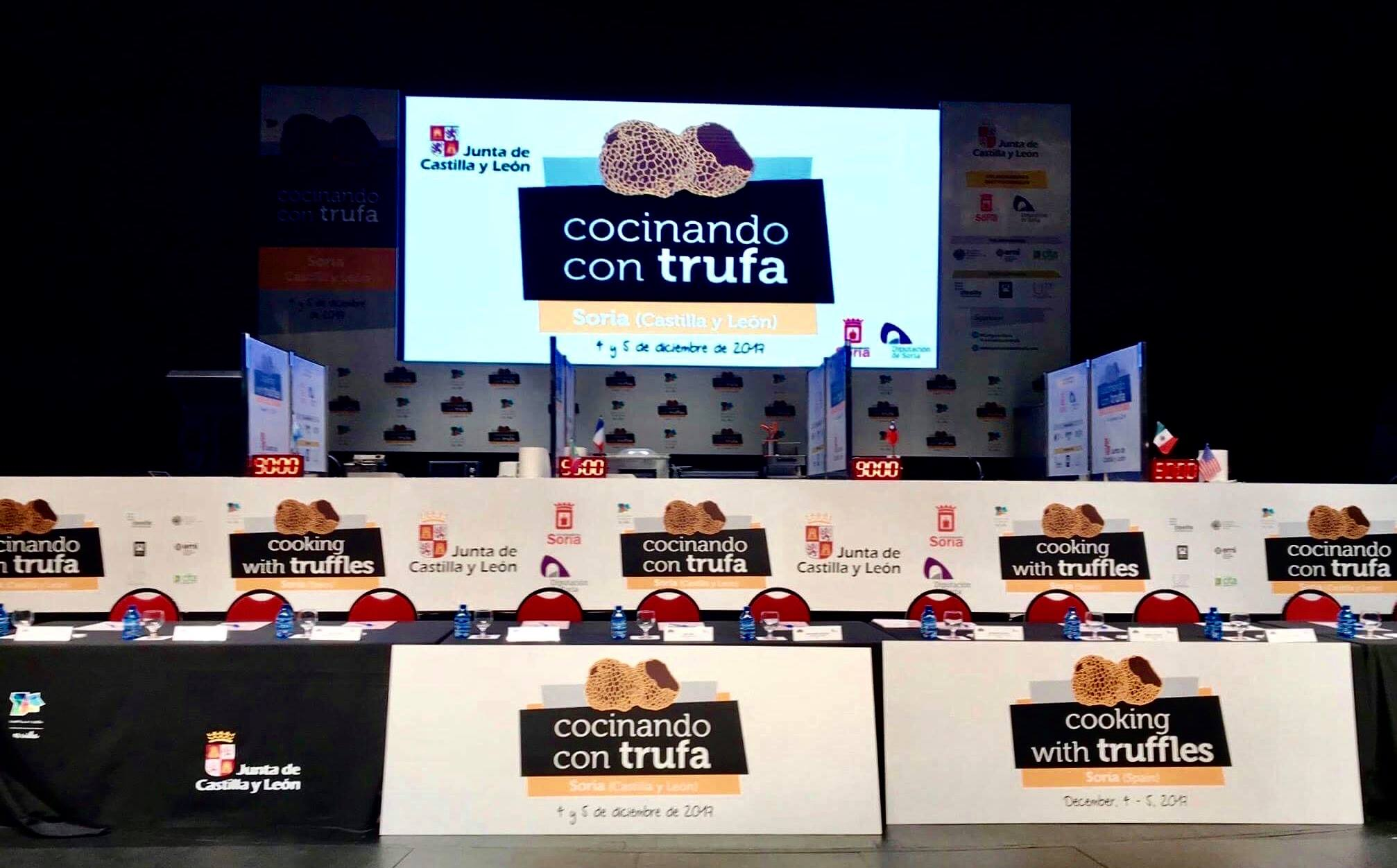 Cooking with Truffle, Chef Varin Returns to Spain to Compete