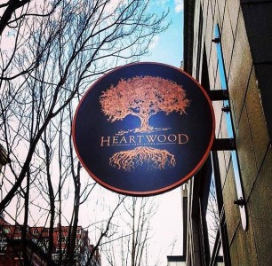 Heartwood Provision Sign | Opening Day 2016 With Menu
