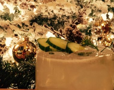Holiday Punch Recipe - Best Christmas Cocktails - Champagne Punch - Winter Holiday Punch