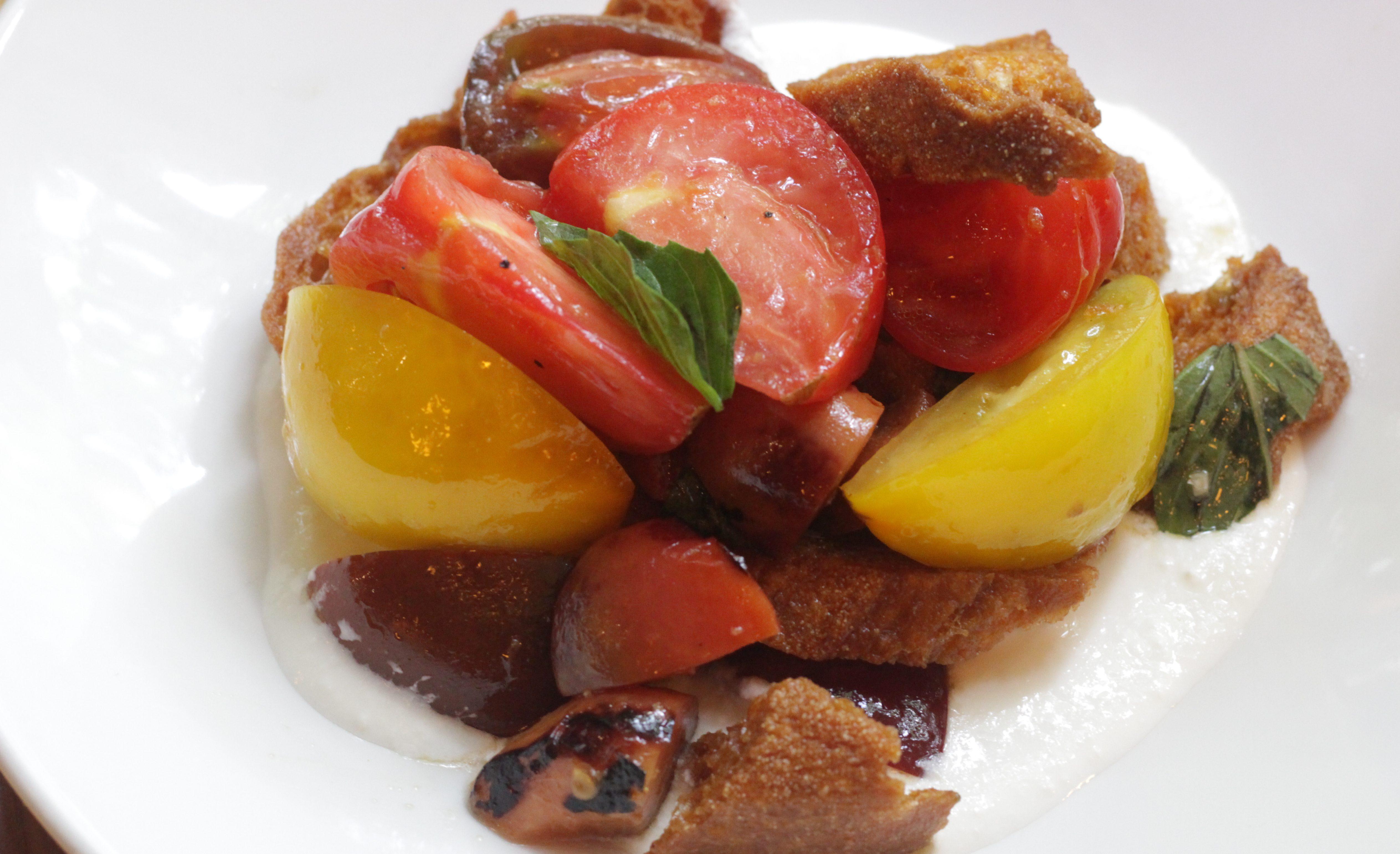 Keen on the Tomato Nectarine Pairing