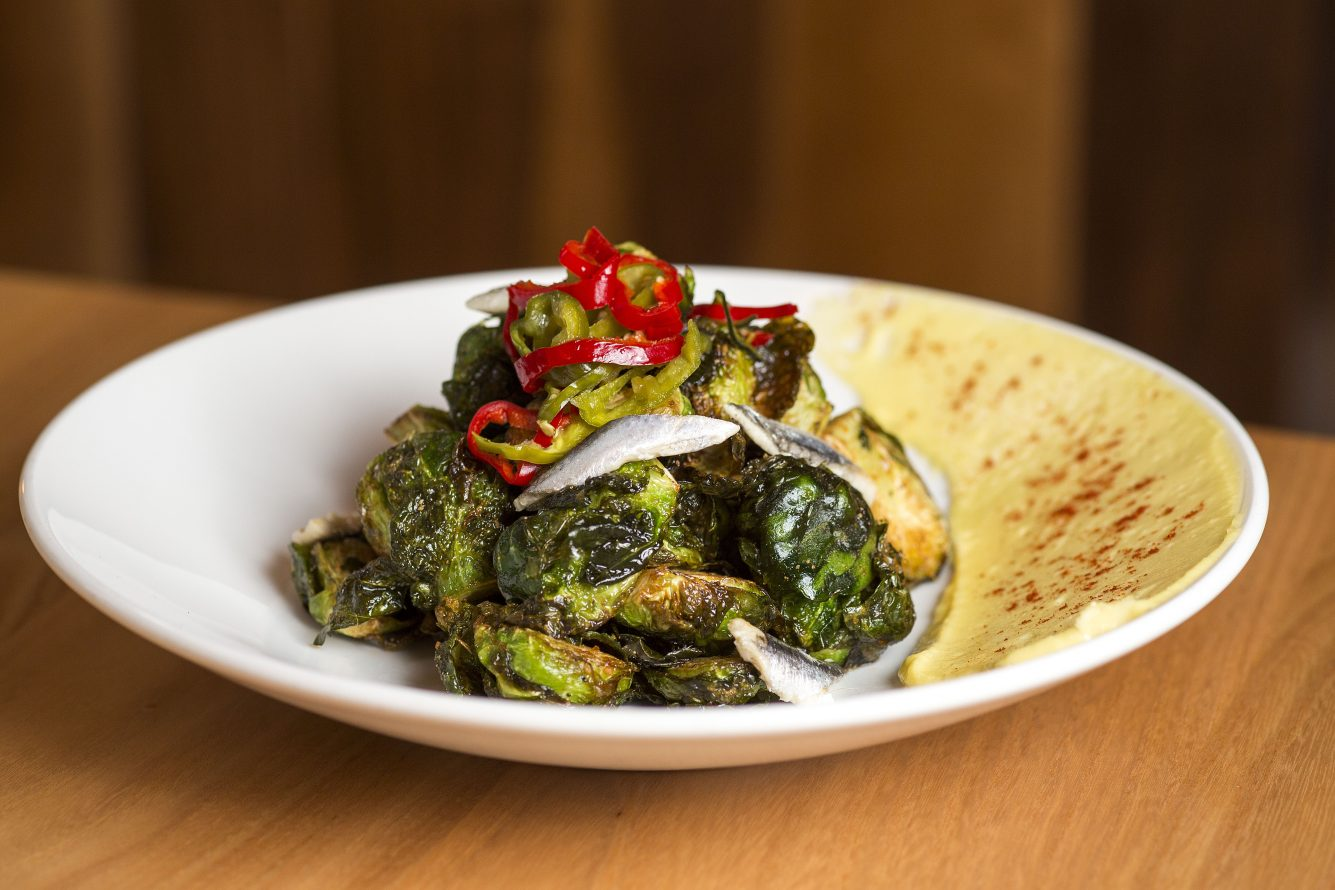 A Thanksgiving Brussels Sprouts Recipe With a Heartwood Twist