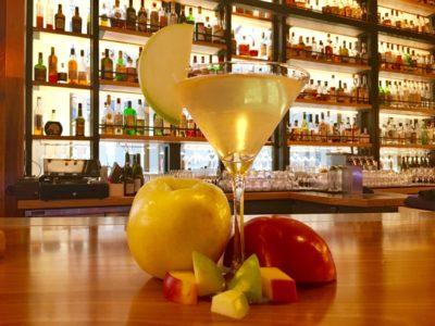 Cocktail recipe with apple shrub