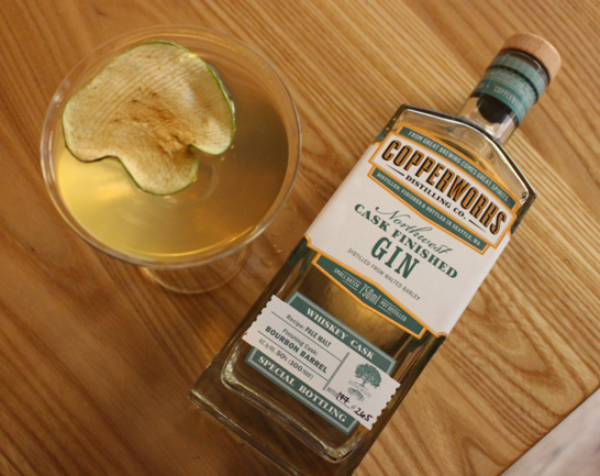 Heartwood + Copperworks = Gin