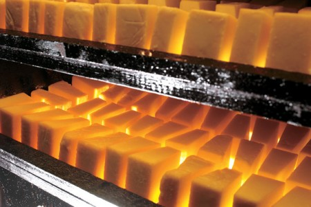 Process of smoking butter